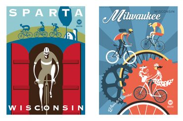 Made in Wisconsin | Cycling Art