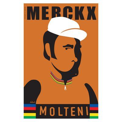 Merckx Legend | Cycling Art Print