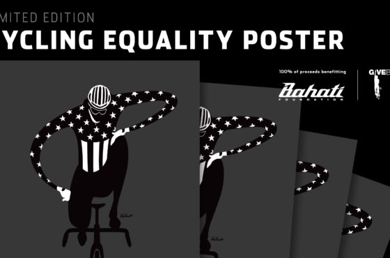 Cycling Equality Limited Edition Screen Print