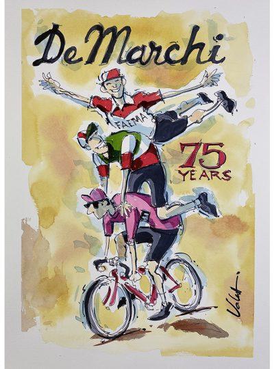 DeMarchi | Original Cycling Art