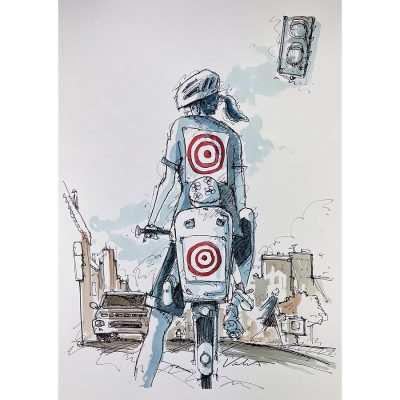 Target Mom | Original Cycling Art