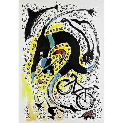 TDU 2019 Art | Original Cycling Art