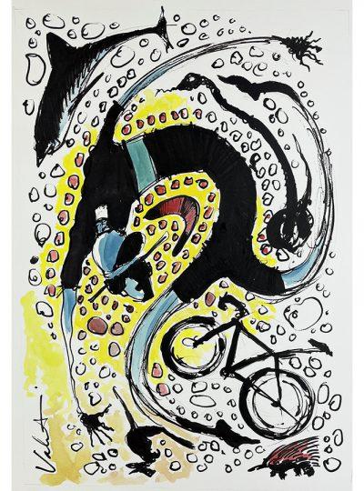 TDU 2019 Art | Original Cycling Art