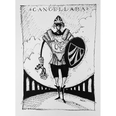 Cancellara | Original Cycling Art