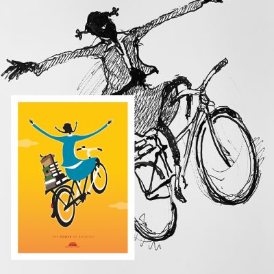 More than a Bicycle | Original Cycling Art