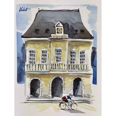 Chateau | Original Cycling Art