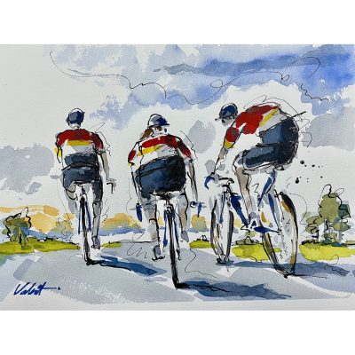 Endless Summer | Original Cycling Art