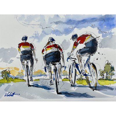 Endless Summer | Original Cycling Art