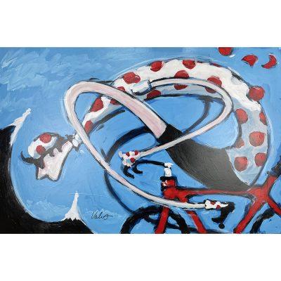 KOM | Original Cycling Art