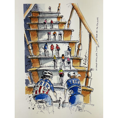 Staircase | Original Cycling Art