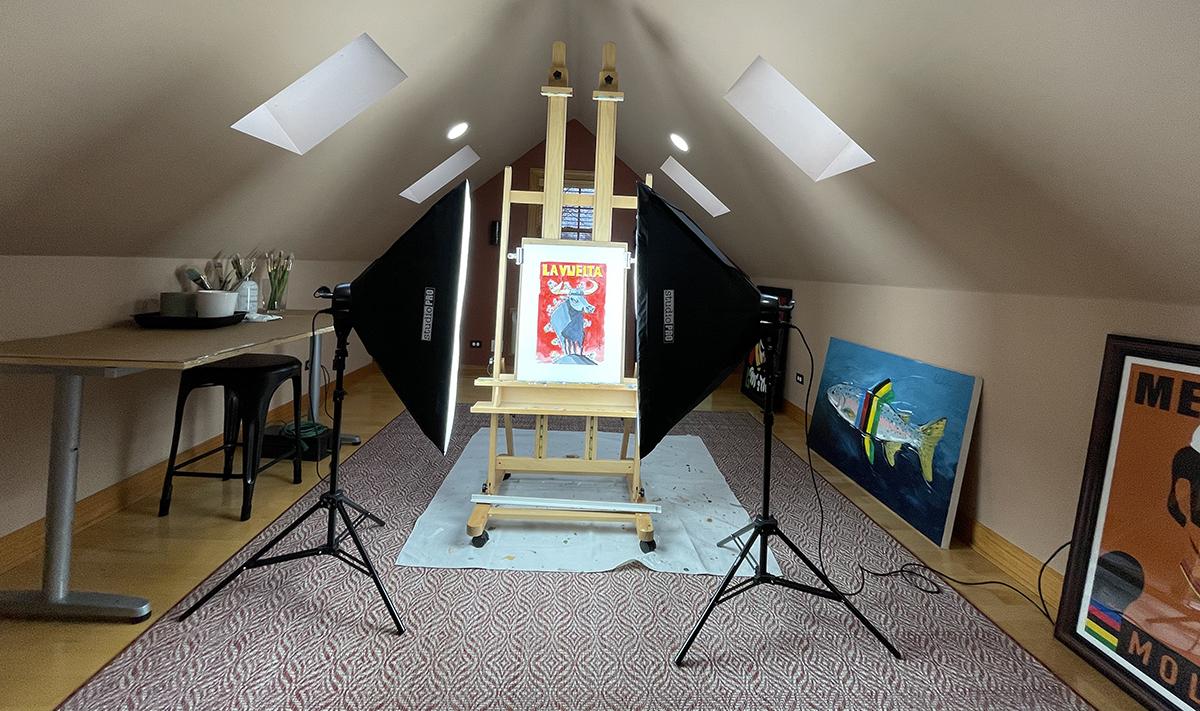 Michael Valenti's Loft Studio