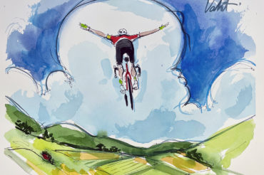 Flights of Fancy | Original Cycling Art