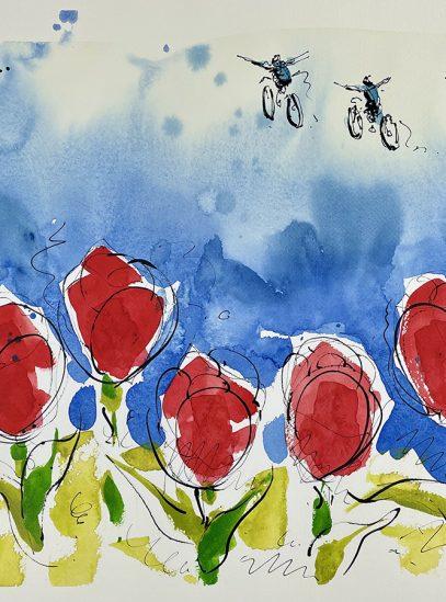 Soaring Over Tulips_full