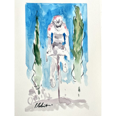 Giro Ghosts Cycling Art image from Michael Valenti