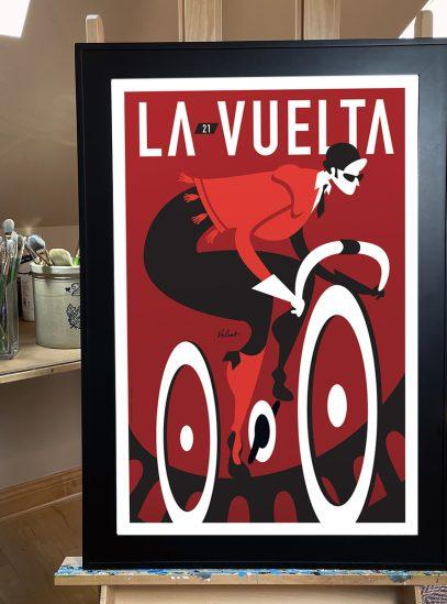 La Vuelta 21_framed