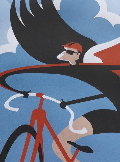 Winged Rider Detail