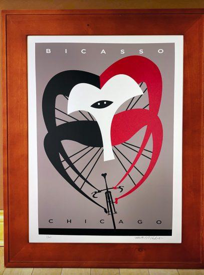 Bicasso_framed