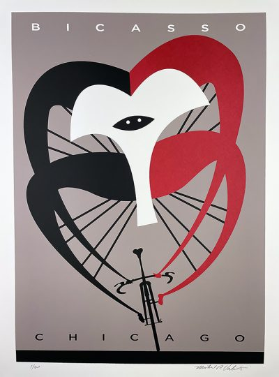 Bicasso   Screened Print   Limited Edition