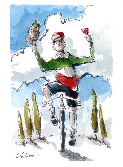 Vive Chianti | Original Cycling Art